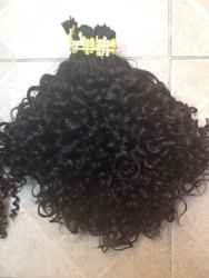 Most Expensive Unprocessed Natural Indian Human Curly Hair