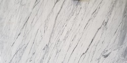 White Statuario Marble, Thickness: 16.5 mm to 17 mm