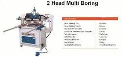 Wooden 2 Head Multiboring Machine