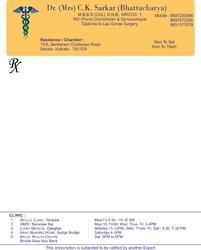 Text Printing Paper Letterhead Printing Service, In Pan India
