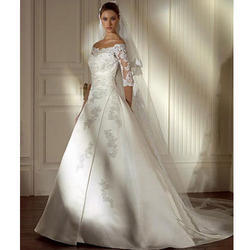 Wedding Gown With Veils