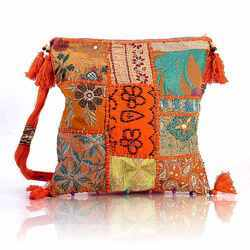 Embroidered Ladies Shoulder Bag
