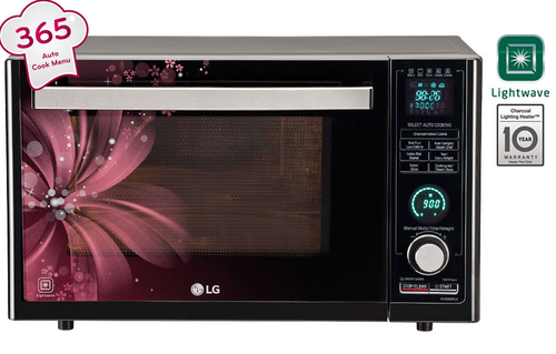 Lg All In One Microwave Oven Mj3286brus Black