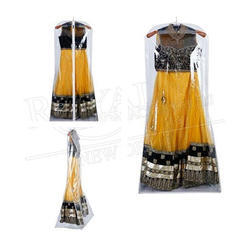 Transparrent Lehenga Covers With Gazette
