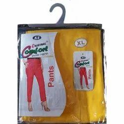 Original Comfort Plain Ladies Cotton Pant, Waist Size: XL