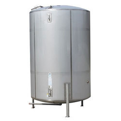 Stainless Steel Vertical Chemical Storage Tank