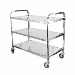 Stainless Steel Housekeeping Trolley