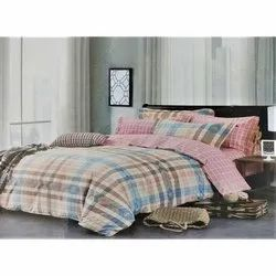 Printed Various Color Cotton Double Bed Sheets