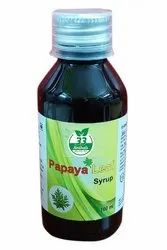 33 Herbals Papaya Leaf Syrup, Packaging Type: Bottle, Packaging Size: 100 Ml
