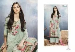 Ganga Aster Silk Digital Printed Salwar Suits