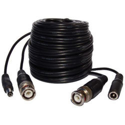 Black Copper CCTV Cable
