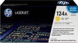 HP Q6002A 124A Yellow Toner Cartridge