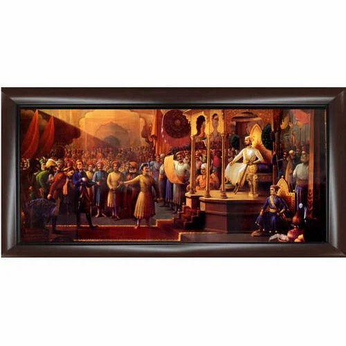 Shivaji Maharaj Photo Frame At Rs 1500 Piece Antique Picture