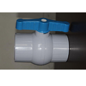 High Pressure PP Solid Ball Valve