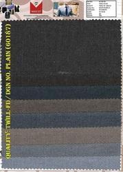 Twill Serge Plain Suiting Fabric
