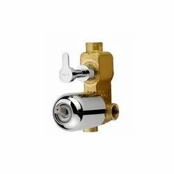 Concealed Body For Single Lever Diverter 45mm Cartridge With Button Assembly