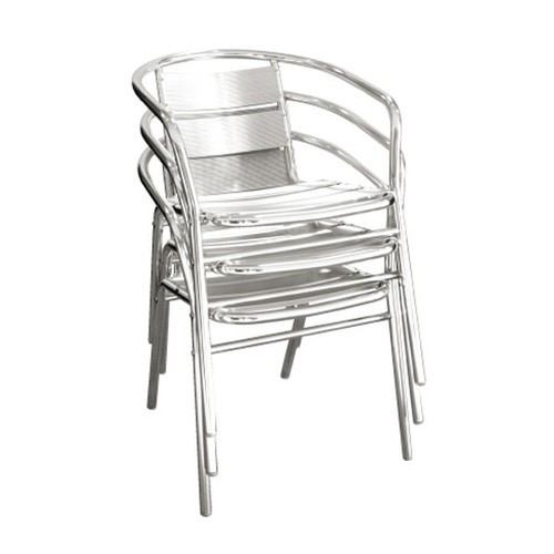 Beau Stainless Steel Chair