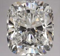 3.02 Ct Gia Certified Cushion Cut Natural Diamond D VVS2 EX EX VST