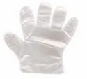 Plain Medium Disposable Plastic Gloves