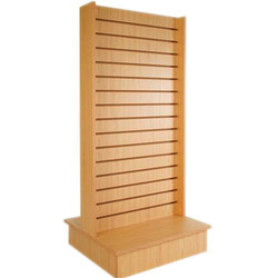 Freestanding Slat Wall Display