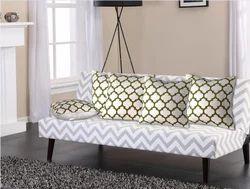 Printed Cotton Cushion Cover