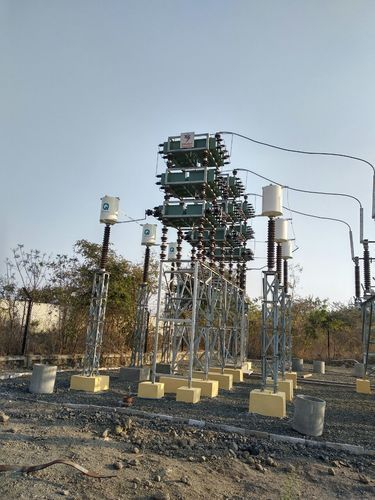 Capacitor Bank In 3311kv Substation