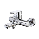 Single Lever Basin Mixer With Adjustable Wall Flange