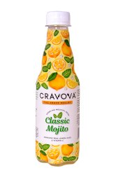 Cravova Lemon and Mint Classic Mojito Carbonated Drink, Packaging Size: 300 ml, Packaging Type: Carton