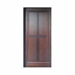 Solid Rubber Wood Door