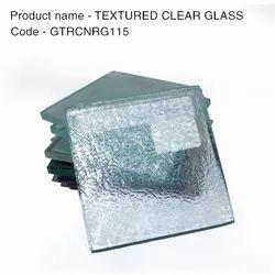 GTRCNRG115 Textured Clear Glass