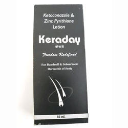 Keraday Anti Dandruff Shampoo, For Wet Shampoo, Pack Size: 60 Ml