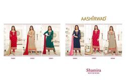 Aashirwad Creation Shamira Georgette Suits
