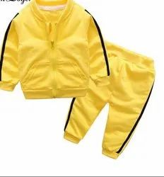 Yellow Fleece Baby Clothes, Size: 0-3 Years