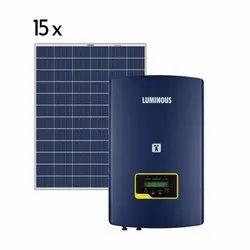 Luminous 5 kw on Grid Solar System