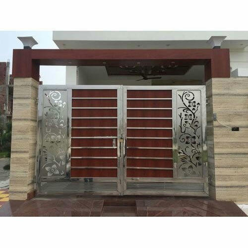 Stainless Steel Main Gate Rd Steel Wala Manufacturer