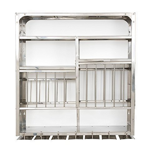 Stainless Steel Kitchen Plate Rack For Restaurant