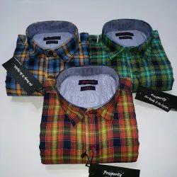 Prosperity Collar Neck Mens Shirt