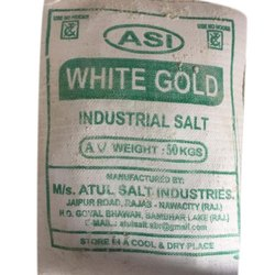 WHITE GOLD Common Industrial Salt, Packaging Size: 50 Kg, Packaging Type: Pp Bag