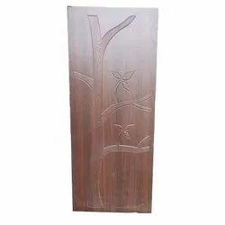 Polished Wood Designer Membrane Door Size 7 X 4 Feet