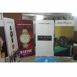 Advertising Rollup Banner Standee