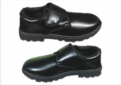 Hike PVC Boys School Shoes, Size: 3 To