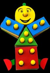 SHAPELY CLOWN PUZZLE