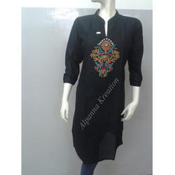 Cotton Hand Work Kurtis