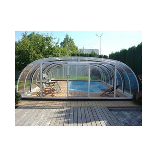 Swimming Pool Covering Shed - Pyramid Swimming Pool Shed ...