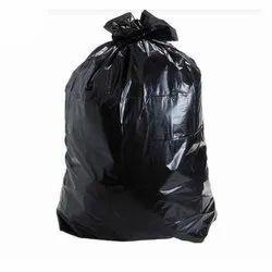 Plain Black Garbage Packaging Bag