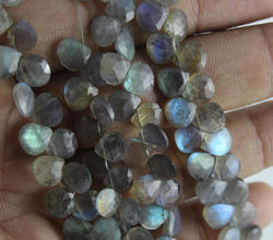 Labradorite Gemstone Faceted Beads