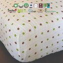 Organic Baby Muslin Crib Sheet
