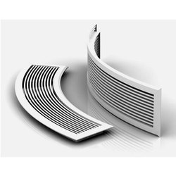Silver Duct Grill for Home