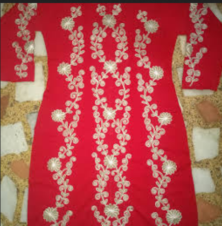 Rajesh Embroidery Works Service Provider Of Chanderi Beads Work