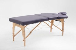 Wooden legs 2 section massage table